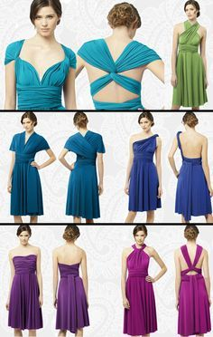 Les aventuriers de la vie: Wrap dress / infinity dress : 15 robes en une !