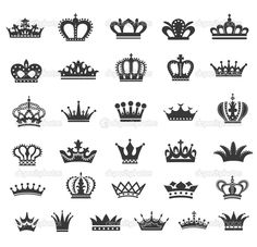simple line crown - Google Search