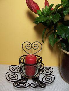 Potěšení z drátků. a nejenom z nich Planter Pots, Candle Holders, Wire, Metal, Candelabra, Candle Stands, Plant Pots