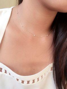 Solid Gold Heart Diamond Necklace/ Heart Shaped Diamond Pendant in Gold/ Pave Heart Necklace/ Love Pendant/ Heart Charm - Fine Jewelry Ideas