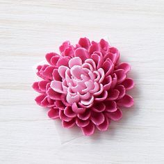 Buttercream Dahlia Flower