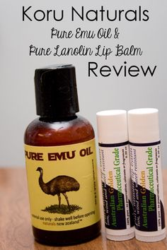 Have you ever wanted to try Koru Naturals' Pure Emu Oil and Lanolin Lip Balm?  Come read my Koru Naturals Review!