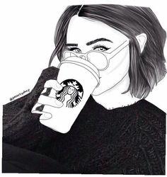 Image via We Heart It #art #draw #girl #L #outline #sketch #tumblr #acacia #acaciaclarck #acaciabrinley