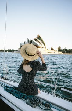 (Dress: Topshop , Hat: ASOS , Necklace: Missoma ) It's anchors aweigh for 2017 and first up we're heading back to Australia, ...