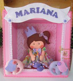 Girassóis Mágicos: Porta de maternidade princesa
