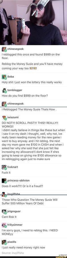 money, susie