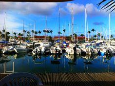 Saint-Francois ve městě Guadeloupe French West Indies, Four Square, Saints, Photos, Clouds, Places, Travel, Sharks, Saint Francis