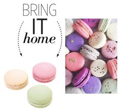 """""""Bring It Home: Ladurée Macarons Eraser Set"""" by polyvore-editorial ❤ liked on Polyvore featuring interior, interiors, interior design, home, home decor, interior decorating, Ladurée and bringithome"""