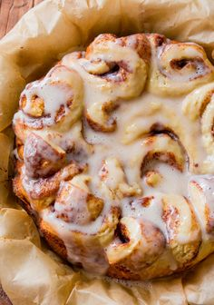 Top Slow Cooker Recipes  » Easy Slow Cooker Cinnamon Rolls