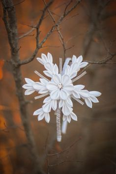 DIY Fabric Kanzashi Flowers Tutorial https://www.youtube.com/watch?v=HaATvCkPfe4&list=PLTpndqQPJx2Q--aUFPmDMYCeCJ95GOPUe&index=6