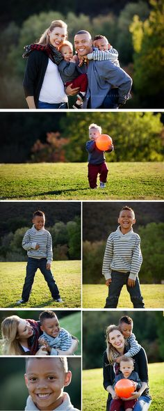 Family Photo Session in the park - Be playful and have fun! | Oak Park California