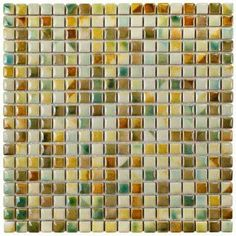 Rustica Mini Springfield 12 in. x 12 in. x 8 mm Porcelain Mosaic Tile