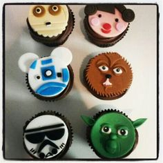 Star War Cup Cakes