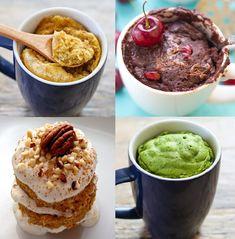Najlepsze fit desery z kubka, które zrobisz w 5 minut [14 PRZEPISÓW] I Żywienie Myfitness Muffin, Ice Cream, Pudding, Breakfast, Ethnic Recipes, Fitness, Desserts, Food, Tips