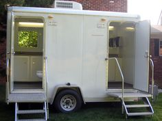 Luxury Portable Restroom Trailers | Hoosier Portable Restrooms - Ordering today! (gotta take care of the practicalities of life!) *just found out this will cost almost as much as the whole wedding!!!