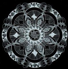 Mandala-  would make a gorgeous tattoo...