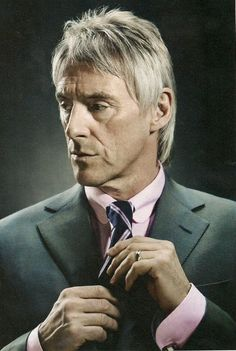Paul Weller as a gentleman fashion leader