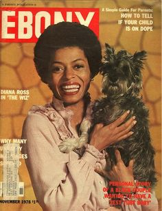 Diana Ross, The Wiz, Eaze on down the Road, Ebony cover