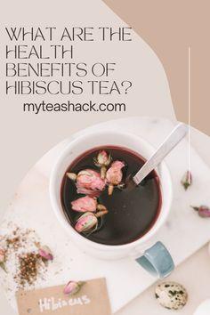 Tea Benefits, Health Benefits, Iced Tea Recipes, Hibiscus Tea, Drinking Tea, Healthy Drinks, Herbalism, Healthy Living, Herbal Teas