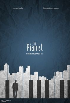 The Pianist | Minimalist poster design