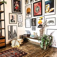 Home Decor Styles .Home Decor Styles Eclectic Gallery Wall, Eclectic Decor, Gallery Wall Art, Modern Gallery Wall, Gallery Walls, Eclectic Style, Eclectic Modern, Rustic Modern, Home Decor Styles