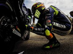 Valentino...doing what he does!