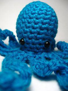 Octopus amigurumi pattern #free #amigurumi #pattern