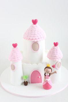 Such a cute princess cake