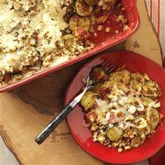 ITALIAN ZUCCHINI CASSEROLE  http://www.tasteofhome.com/recipes/italian-zucchini-casserole?pmcode=IPKDV07T&_cmp=RecipeOfTheDay&_ebid=RecipeOfTheDay7%2F27%2F2016&_mid=107058&ehid=6F6F848BAB6B56B1C02AB926D2AF603535AE3AB5