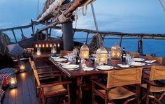 Dinner float