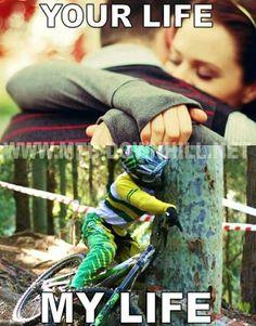 Hugs!! #mtb #funny #meme