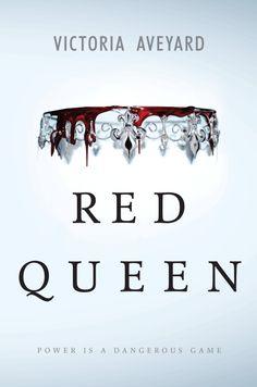 Gif animado de la portada de una de las novedades más esperadas este año: 'The Red Queen' #Lareinaroja