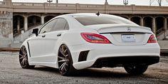 Sexy Mercedes Benz White
