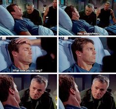 """""""Hey sleepyhead""""...This scene makes me laugh every time! Daniel's face..."""