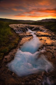 The Brilliance of Bruarfoss by Brian Rueb on 500px