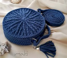 Ravelry: My round bag pattern by MakiCrochet