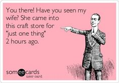 Funny sewing memes that will make you laugh. This one about crafts is pretty darn funny.