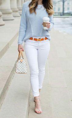 530 Ideas De Pantalón Blanco Ropa Moda Moda Para Mujer
