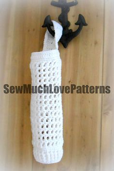 Ravelry: Grocery/Shopping Bag Holder pattern by April Hudson