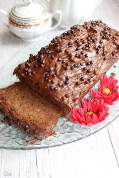 Polish Recipes, Homemade Cakes, Cake Cookies, Banana Bread, French Toast, Food And Drink, Yummy Food, Sweets, Chocolate