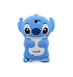 Lovely Cartoon Stitch Silica Back Cover for Samsung N7100