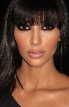kim kardashian smokey eye