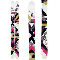 Atomic Millennium Skis - Women's 2013 from evo.com - to Demo in Jackson Hole
