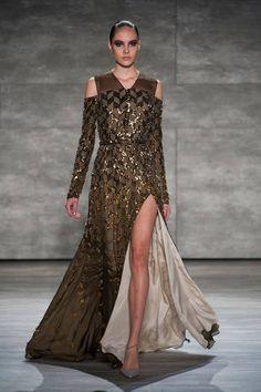 Best Gowns New York Runways - Best Fashion Week Gowns - ELLE