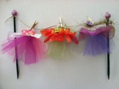 birthday cake Fairy Dress Cake Topper for cupcakes by StickyPixies, $16.00