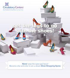 Saving 4 A Sunny Day: Enter To Win A Shoe Shopping Spree