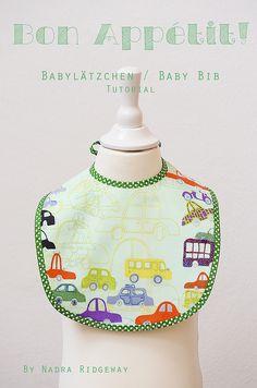 Babylätzchen / Baby Bib Tutorial
