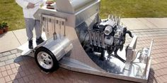 11 Cool, Creative and Totally Crazy Barbecue Grills