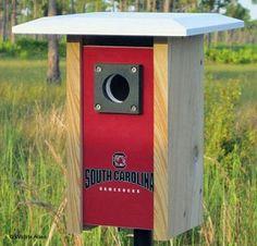 South Carolina NCAA Bluebird/Songbird House
