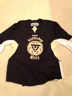 archbiship  mitty  archbishopmitty  hockey  jersey  hockeyjersey  custom   twill  logo 74eb8a8e8